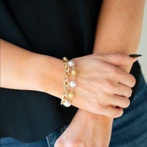 Vintage Variety - Gold   Bracelet